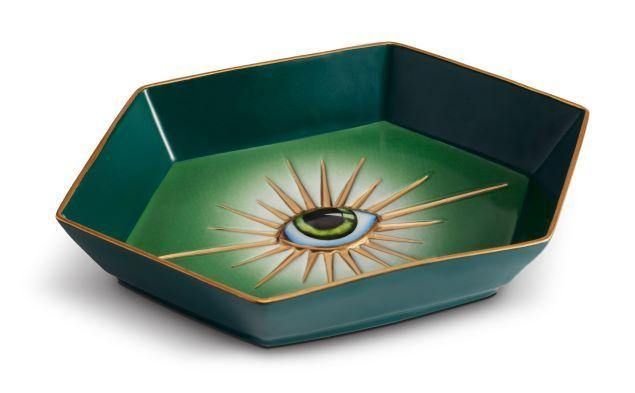 Lito Eye Green Tray