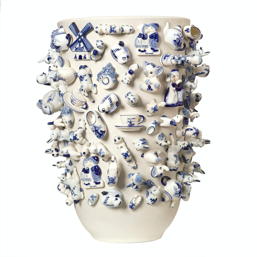 Vase Souvenir Holland XL/Dim: Ø35 x H40 cm Packaging: export carton + authenticity certificate