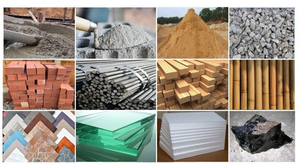 Types of Building Materials & their Features