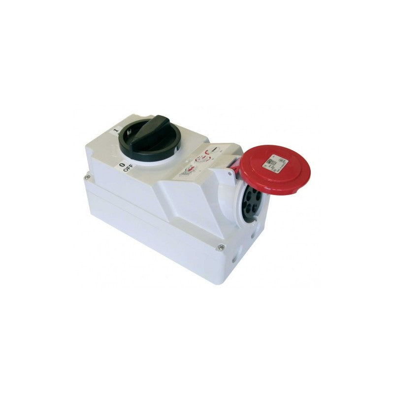 125Amp 5 Pole Safety Socket IP67