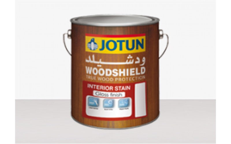 Woodshield Stainer Interior GLOSS (1 Liter)
