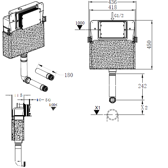 Concealed Cistern | PC88