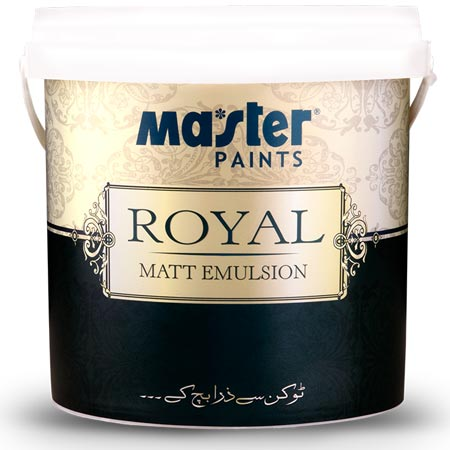 Master Royal Matt Emulsion Quarter