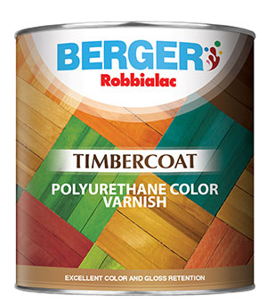 Timbercoat Polyurethane Color Varnish (Gallon Size)