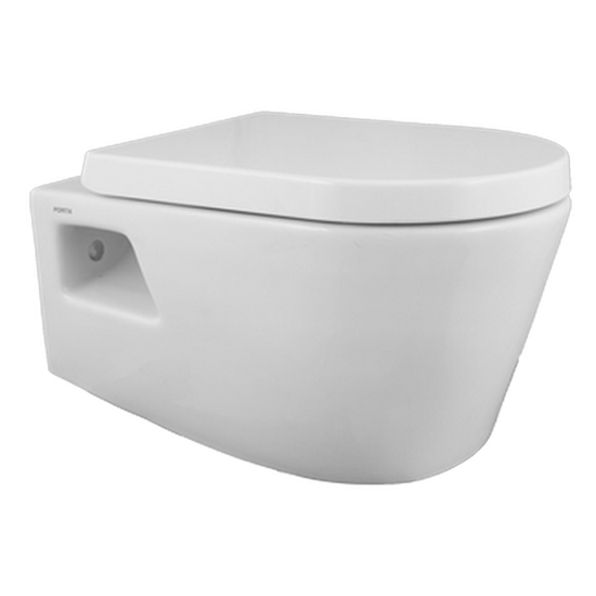 Wall-Hung Washdown Toilet | HD427WH