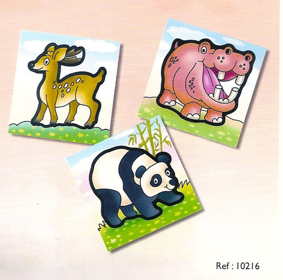 First Puzzles - Wild Animals