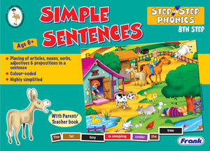 Step by Step Phonic - Simple Sentence