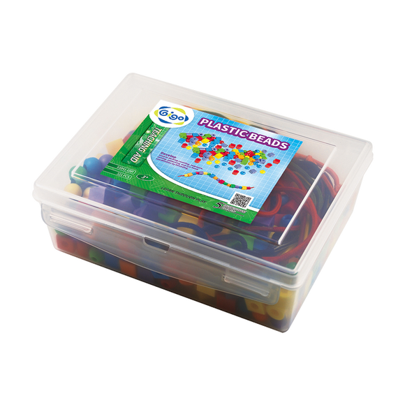 PLASTIC BEADS (w- Card)