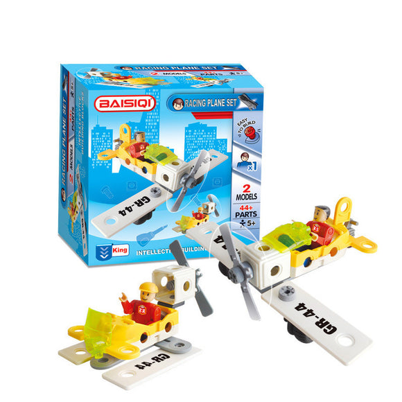 BAISIQI 6807 - Racing Plane Set 2 Models 44+Pcs