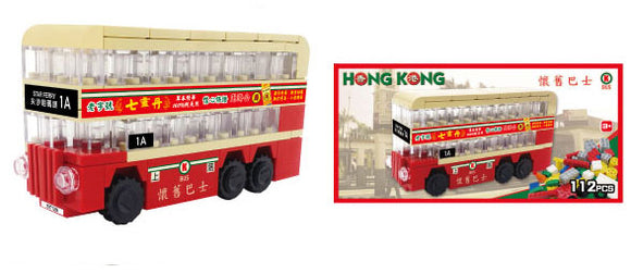 Hong Kong Bricks - Nostalgic Bus
