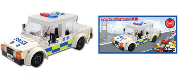 Hong Kong Bricks - Police Car