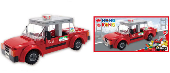 Hong Kong Bricks - Taxi (Red)