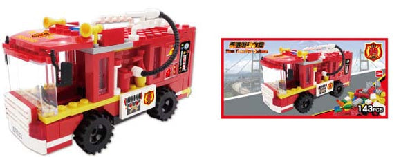 Hong Kong Bricks - Fire Truck
