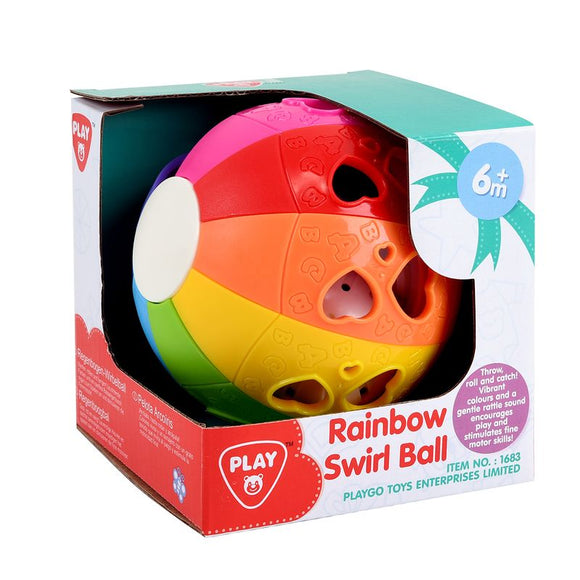 Playgo Rainbow Swirl Ball