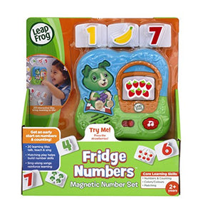 Fridge Numbers Magnetis Set