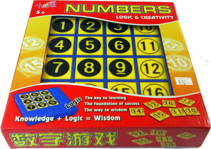 Numbers & Logic Game