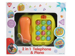 2 in 1 Telephone n Piano