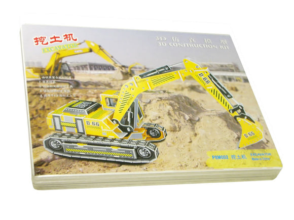 3D Constructioin kit - excavator