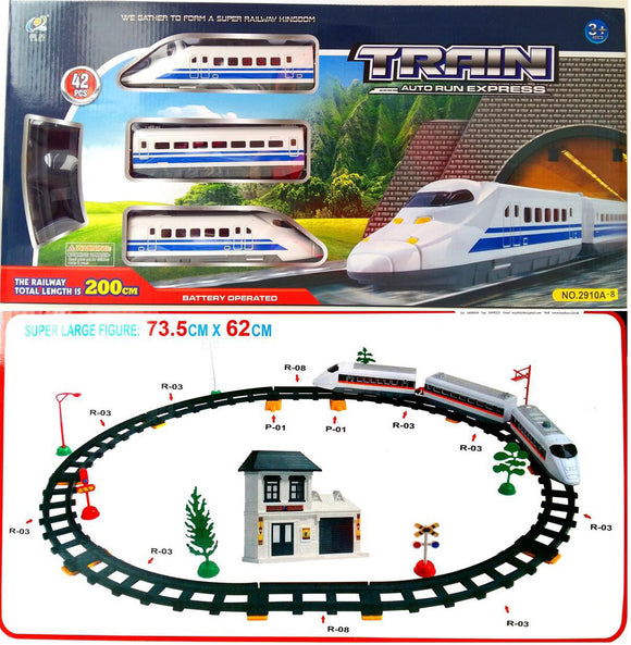 Harmony electric train track set