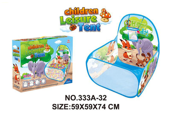Children Animals Leisure Tent(50 Balls)
