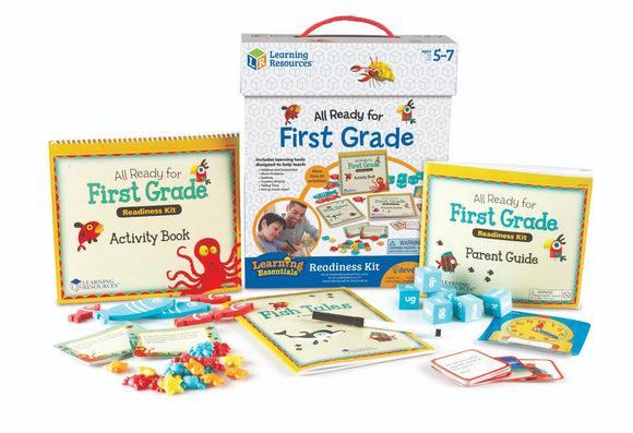 All Ready for First Grade Readiness Kit