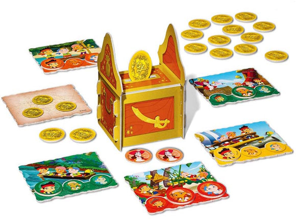 Jake and Never Land Pirates Doubloon Treasure Chest Game