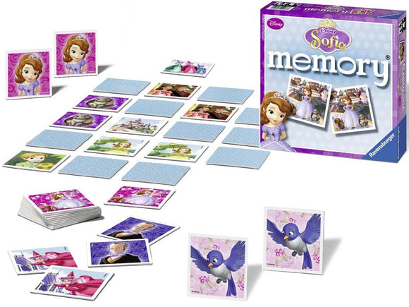 Disney Sofia Memory Game