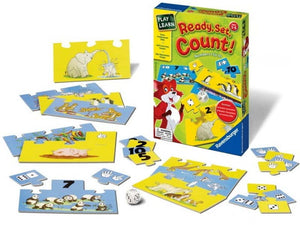 Play & Learn: Ready, Set, Count!