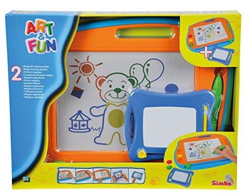 Twin Pack Magentic Drawing Board Play Set