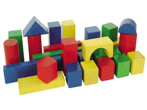 Heros - Wooden Building Blocks Baby Box (25 PCS)