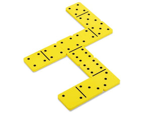 Double-Six Eva Dominoes