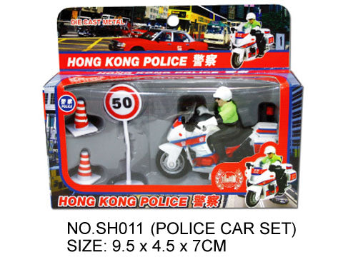 Hong Kong Transportation -  Police Motor Bike