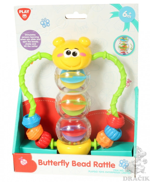 Playgo Butterfly Bead Rattle