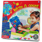Write & Count Magnetic Letter Board