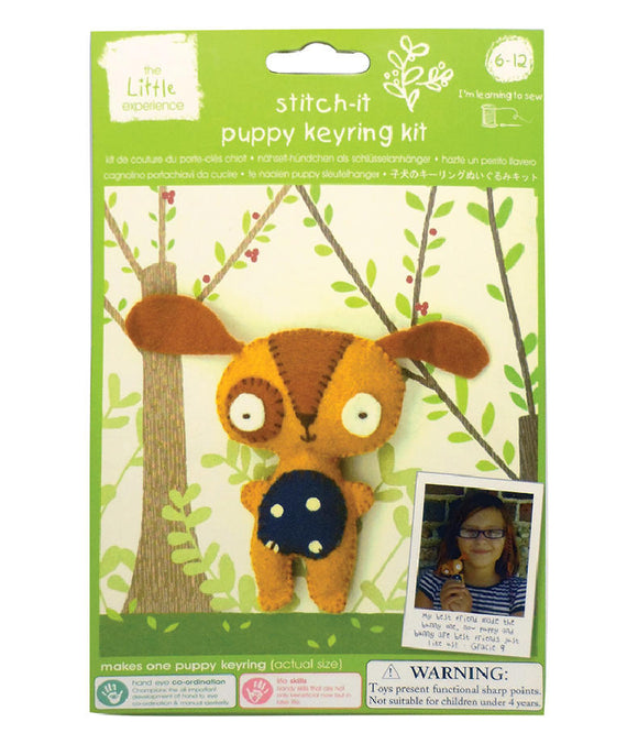 Stitch-It Puppy Keyring Kit