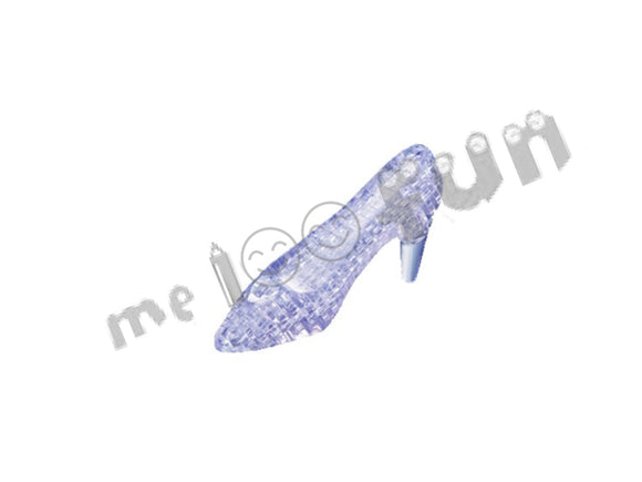 3D Crystal Puzzle - Glass shoe
