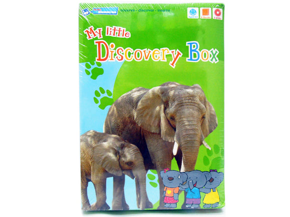 My little Discovery Box (6 books +3DVD)
