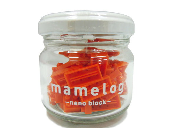 nano block - mamelog bottle (Orange)