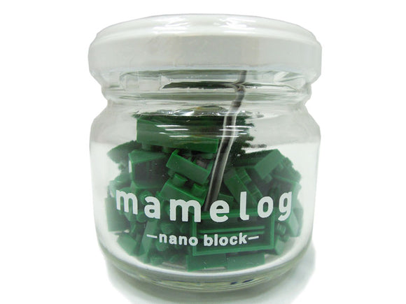 nano block - mamelog bottle (Dark Green)