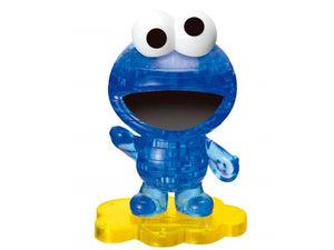 3D Crystal Puzzle - Cookie monster