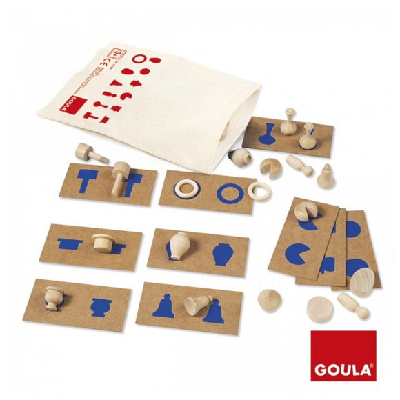 Goula - Tactile Perception and assoction 2 (Made in Spain)