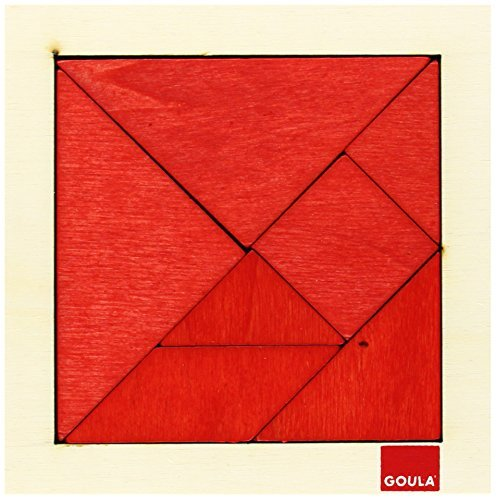 Goula - Tangram Puzzle Wooden (Made in Spain)