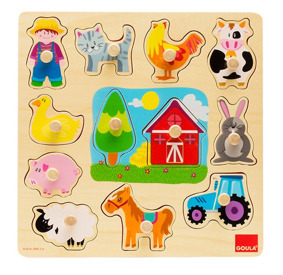 Goula - Farm Animal Puzzle