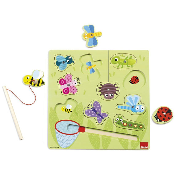 Goula - Magnetic Bugs Puzzle