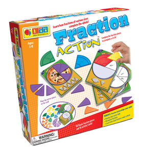 Get Ready for School - Fraction Action