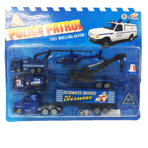 Police Patrol Play Set