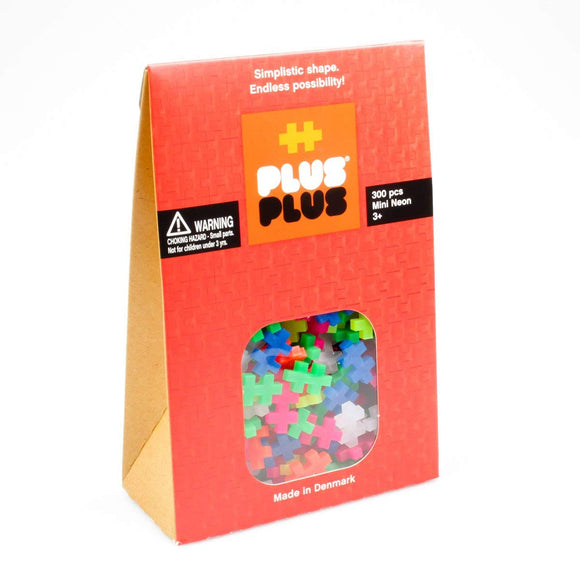 PLUS PLUS - Mini Neon 300 Pcs