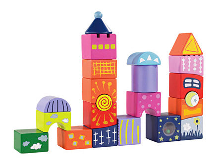 Hape - Fantasy Castle Blocks
