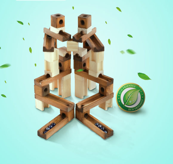 Onshine - Wooden Marbles Building