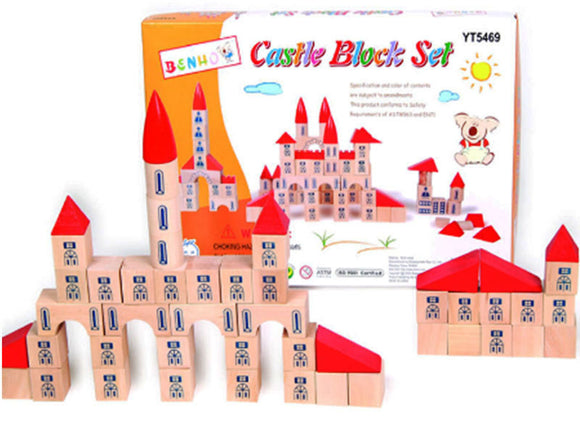 102 pcs Castle Block Set